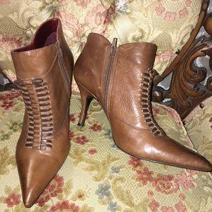 Gabriella Rocha Brown Heeled Bootie